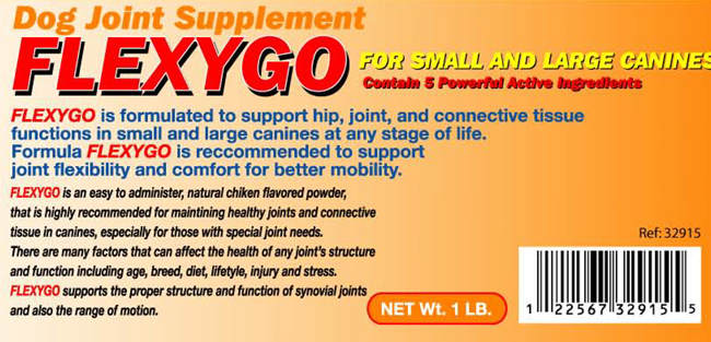 Flexigo Dog for Joint Supplement