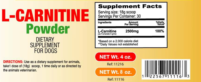 L-Carnitine-Powder for Dogs