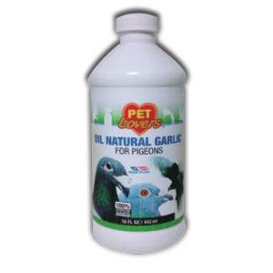 Oil Natural Garlic for Pigeons
