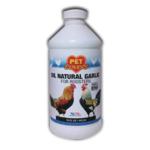 Oil Natural Garlic for Roosters