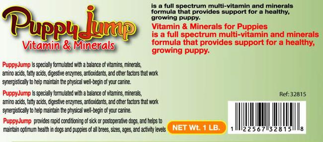 Puppy Jump Brain and Eyes Health